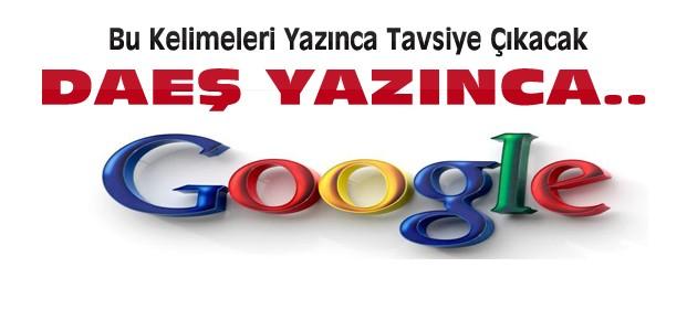 Google'a Terör Ayarı