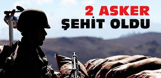 Hakkari'de Çatışma:2 Asker Şehit Oldu