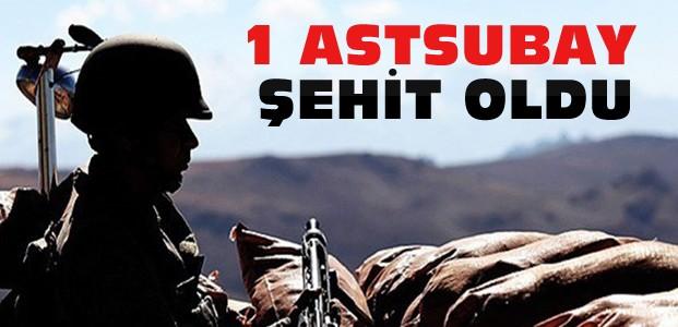 Hakkari'de Saldırı:1 Astsubay Şehit Oldu