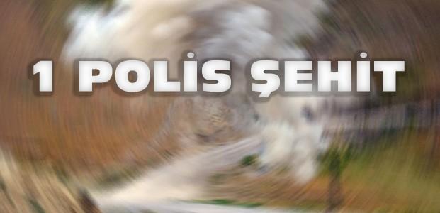 Hakkari'den Acı Haber:1 Polis Şehit