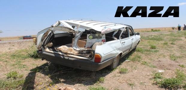 Hastane Dönüşünde Kaza