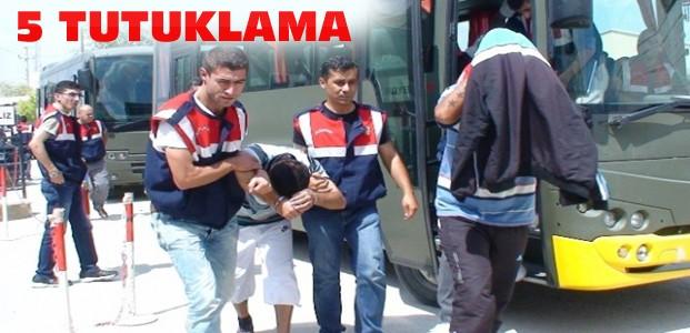 Hırsızlık Operasyonunda 5 Kişi Tutuklandı