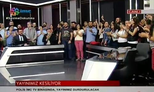 İMC TV kapatıldı