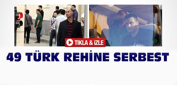 Irak'taki Türk Rehineler Serbest-VİDEO