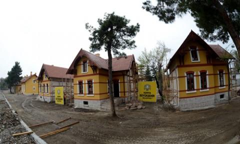 İstasyon Evlerinin restorasyonu bitiyor