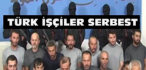 Kaçırılan 16 Türk İşçi Serbest Bırakıldı