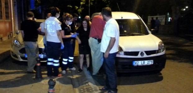 Konya'da Bir Kadına Önce Darp Sonra Gasp