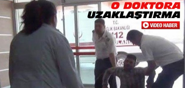 Karaman'daki O Doktor Görevden Uzaklaştırıldı