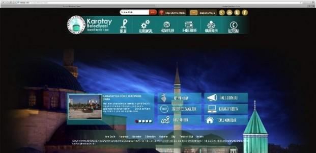 Karatay Belediyesi İnternet Sitesi Yenilendi