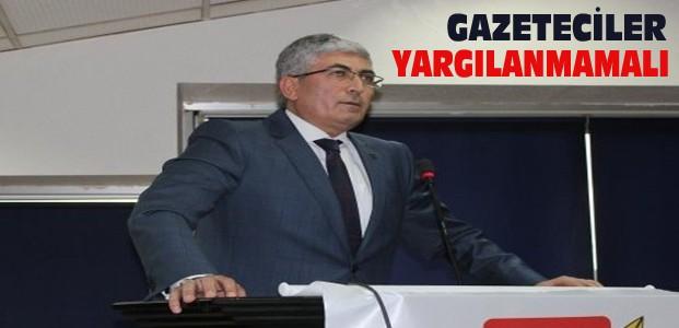 Başkan Özdemir:Basın Özgürlüğü Herkese Lazım