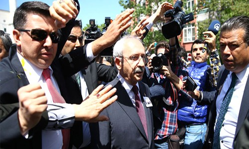 Kılıçdaroğlu'na 2'inci protesto