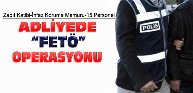 Konya Adliyesinde Yeni Operasyon:15 Gözaltı