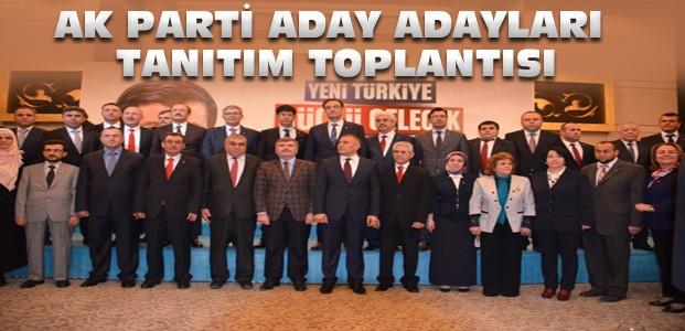 Konya Ak Parti Aday Adayları Bir Araya Geldi