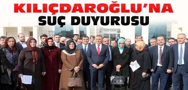 Konya Ak Partiden Kılıçdaroğlu'na Suç Duyurusu