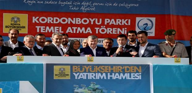 Konya Büyükşehir'den İlçelere Yatırım