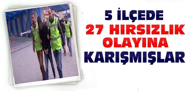 Konya'da-Şaşkın Hırsızlar Tutuklandı