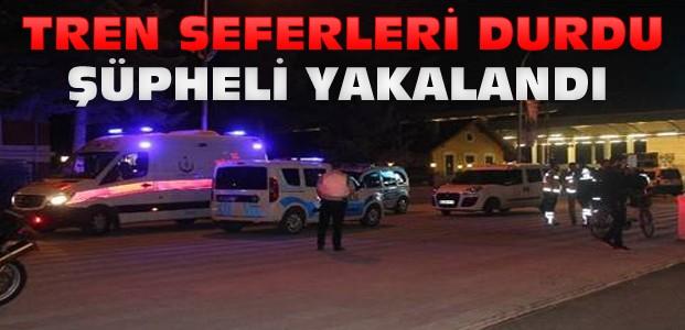 Konya Garı İhbar Nedeniyle 2 Saat Boşaltıldı
