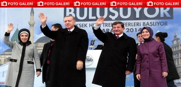 Konya-İstanbul YHT Açılış Töreni-FOTOGALERİ