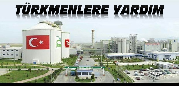 Konya Şekerden Türkmenlere 4 TIR'lık Yardım