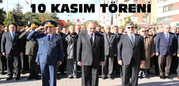 Konya'da 10 Kasım Anma Programı