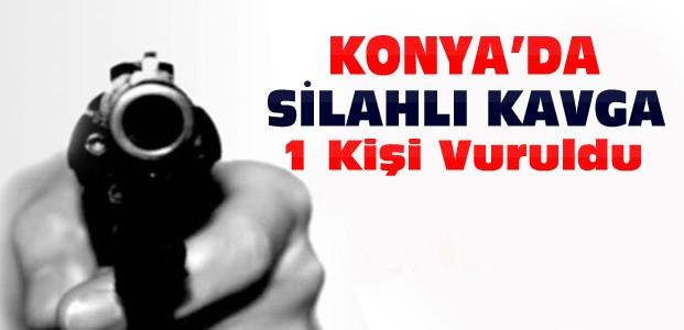 Konya'da 20 Yaşındaki Genç Silahla Vuruldu