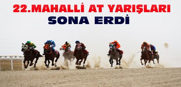 Konya'da 22. Mahalli At Yarışları Sona Erdi