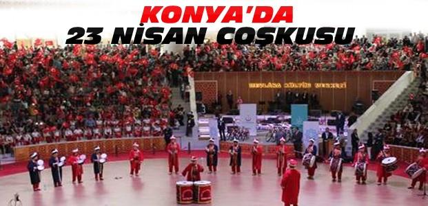 Konya'da 23 Nisan etkinlikleri