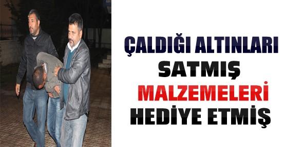 Konya'da 2 Farklı Evden Altın Çalan Hırsız Yakalandı