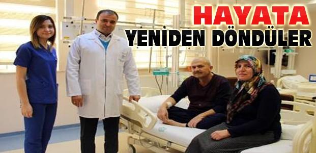 Konya'da 2 Kişi Böbrek Nakliyle Sağlığına Kavuştu