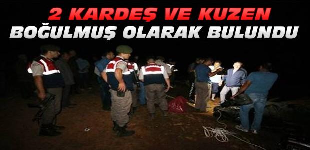 Konya'da 3 kız boğularak öldü
