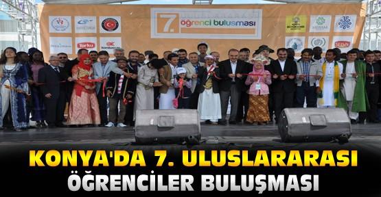 Konya'da 7. Uluslararası Öğrenciler Buluşması