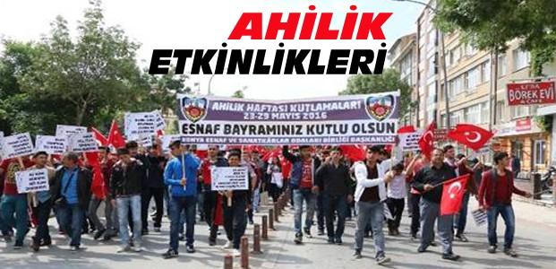 Konya'da Ahilik Haftası Etkinlikleri Başladı