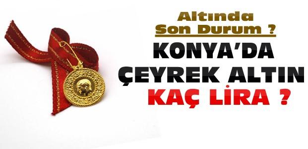 Konya'da Altın ve Dolarda Son Durum ?