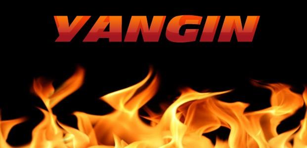 Konya'da Apartman Çatısında Yangın