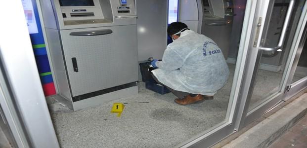 Konya'da ATM'den Hırsızlık Girişimi