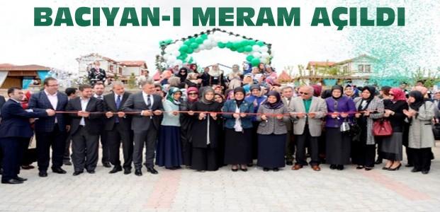 Konya'da Bacıyan-ı Meram Kooperatifi Açıldı