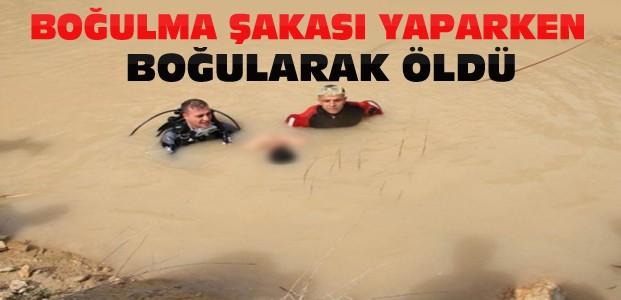 Konya'da Boğulma Şakası Ölümle Sonuçlandı