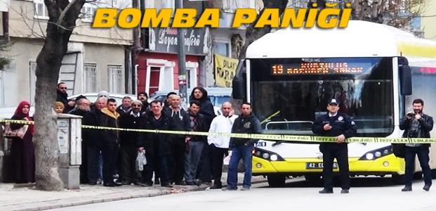 Konya'da Bomba Paniği