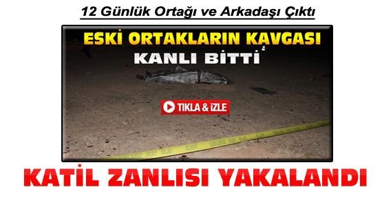 Konya'da Boş Arazide Eski Ortağını Öldüren Şahıs Yakalandı