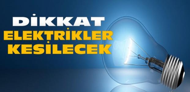 Konya'da Bu Bölgelerde Elektrik Kesintisi Var