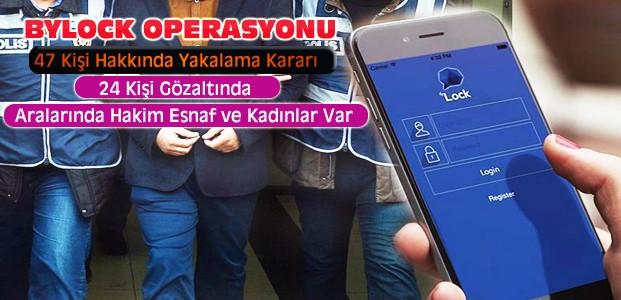 "Konya'da ""Bylock"" Operasyonu"