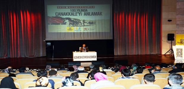 Konya'da Çanakkale Konferansı