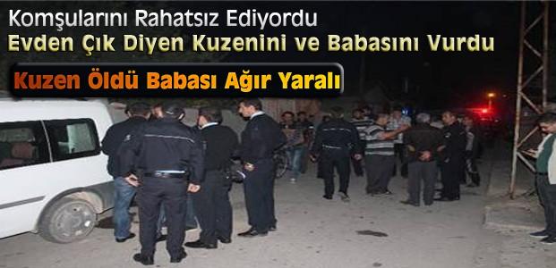 Konya'da Cinayet:2 Kişiyi vurdu-1 ölü