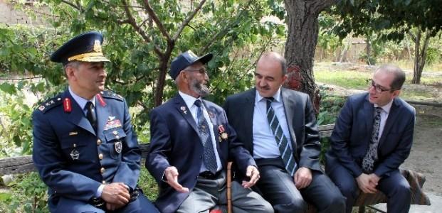 Konya'da En Yaşlı Gazi Unutulmadı