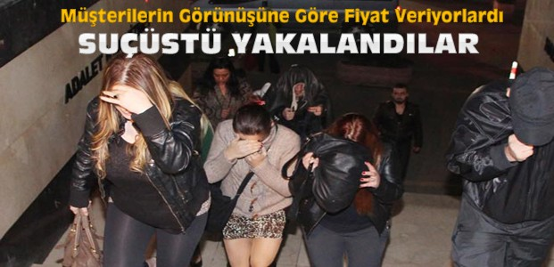 Konya'da Fuhuş Operasyonunda 10 Kadına Suçüstü