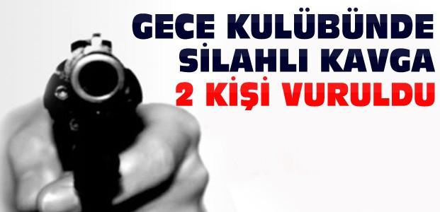 Konya'da Gece Kulübünde 2 Kişi Silahla Vuruldu