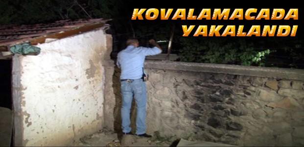 Konya'da Hırsızlık Şüphelisi Yakalandı