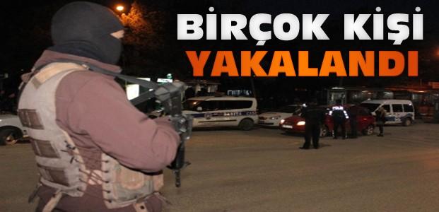Konya'da Huzur Operasyonları