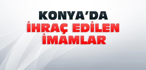 Konya'da İhraç Edilen İmamların Listesi