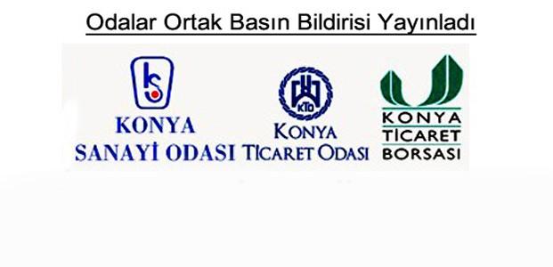 Konya'da İş Dünyasından Ortak Bildiri